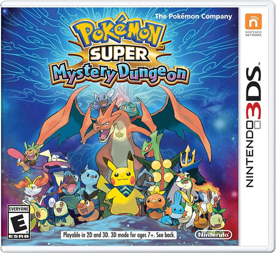 Pokemon Super Mystery Dungeon - 3ds Digital Codigo Eshop