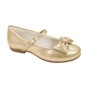 Sapato Pampili Angel Fosco Dourado