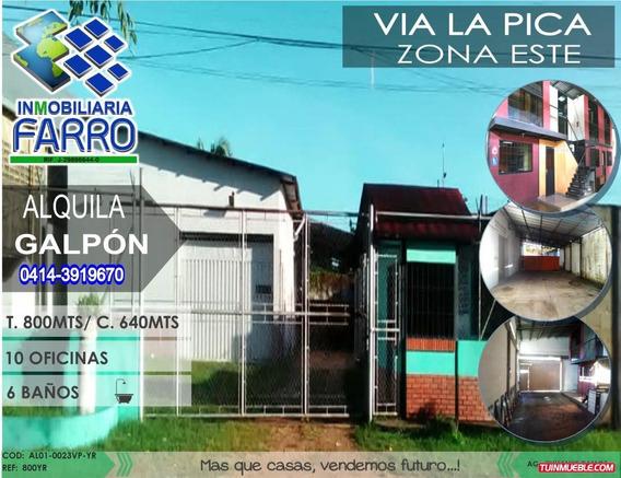 Alquiler De Galpon Via La Pica Al01-0023vp-yr