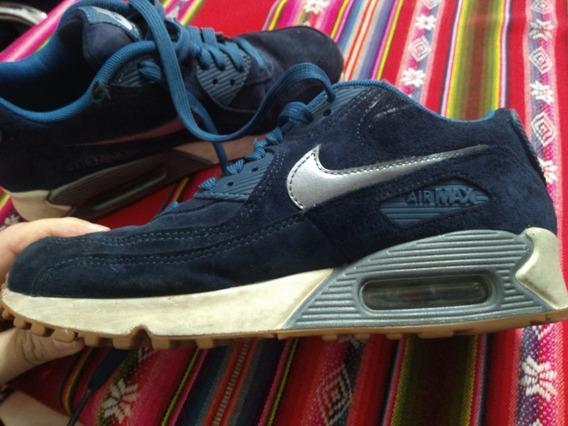 Zapatillas Nike Air Max 90 Suede36,5 Mujer