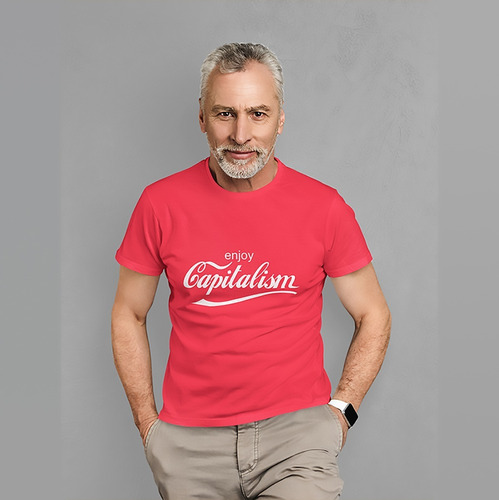 Camiseta Capitalism