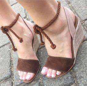 6fa32ca3a Lojas Polyelle Sandalias Gladiadoras Feminino Anabela - Sapatos para ...