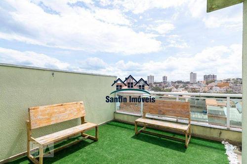Cobertura Com 3 Dormitórios À Venda, 140 M² Por R$ 580.000,00 - Vila Marina - Santo André/sp - Co0657