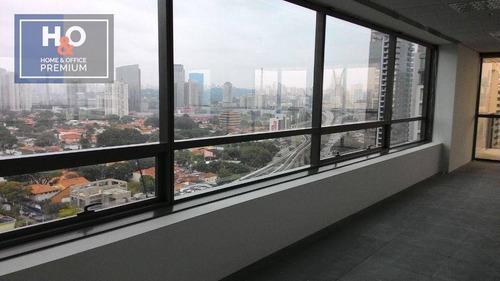 Imagem 1 de 10 de Conjunto Para Alugar, 271 M² - Brooklin Novo - São Paulo/sp - Cj0239