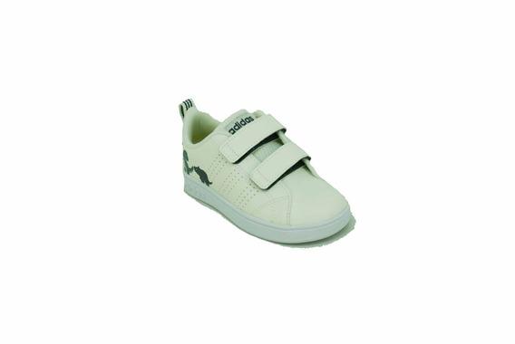 Zapatilla adidas Advantage Clean Beige Dino Bebe Deporfan