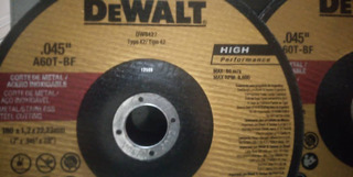 Disco Dewalt Corte 7 Pulgadas Cd Metal-inoxidable