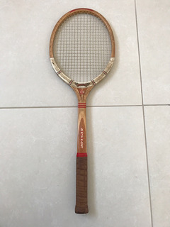 Raquete De Tênis Dunlop Antiga