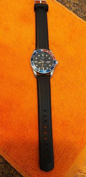 Seiko Diver 100m Quartz Pulseira E Bateria Novos, Aproveite!