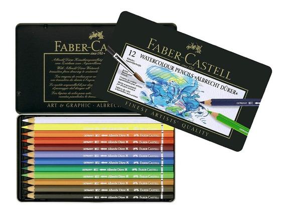 Lápices De Colores Faber Castell Durer X12 Acuarelables