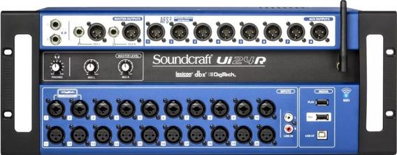 Mesa De Som Ui24r Digital Soundcraft Ui 24r