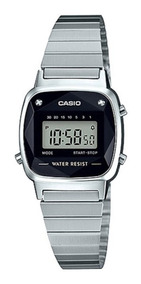 Relógio Casio Feminino Vintage La670wad-1df Mini Diamond