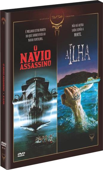 Dvd - Dark Side Vol. 9 - A Ilha + O Navio Assassino - 2 Disc