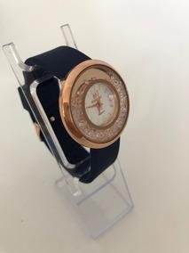 29b76fbe64e7 Reloj De Dama Con Cristal Swarovski Elements Movibles Azul M