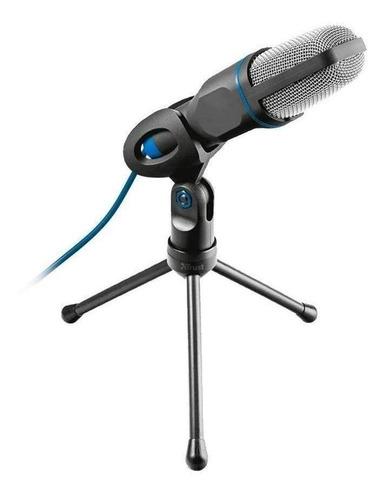 Micrófono Trust Mico Usb Condensador Omnidireccional Negro