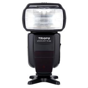 Flash Dedicado Speedlight Ttl Triopo Tr-988 P/ Canon E Nikon