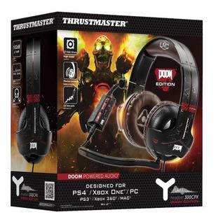 Thrustmaster Headset 300cpx Doom Edit Nuevo Fantasytraderok