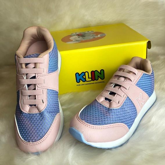 Tenis Walk Feminino Klin - 16630