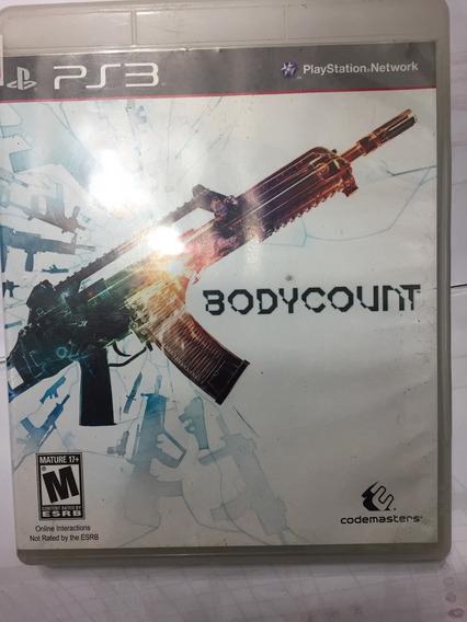 Bodycount Ps3 - Mídia Fisica - Perfeito Estado!