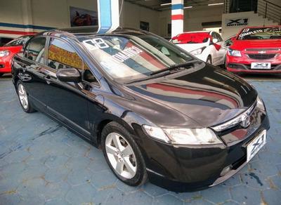 Civic Sedan Lxs 1.8 Flex Aut. Abaixo Da Tabela Ano 2008