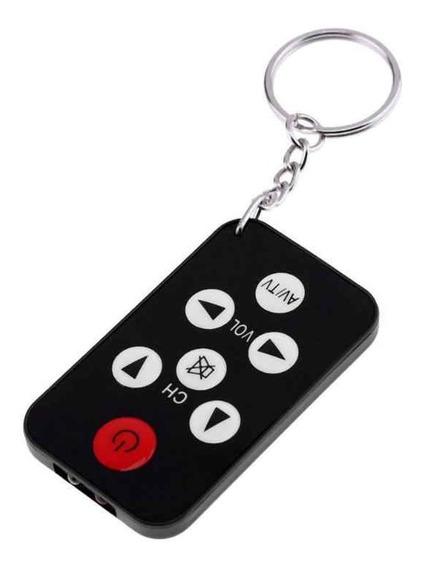 Mini Controle Universal Chaveiro Para Tvs - Pronta Entrega!