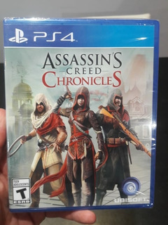 Assassins Creed Chronicles Ps4 Juego Fisico Playstation 4