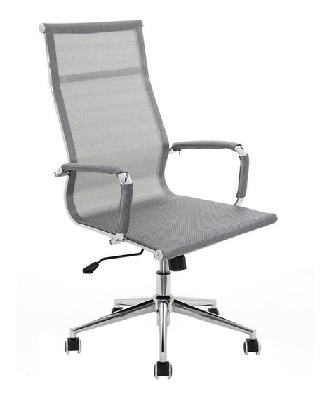 Cadeira Presidente Firenze Cinza