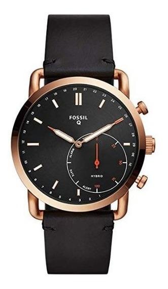 Relógio Híbrido Masculino Fossil Smartwatch Dourado Preto
