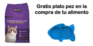Alimento Croquetas Kirkland Gatos Pollo Y Arroz 11.3kg
