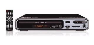 Dvd Con Usb Radio Entrada Microfono Ecosmart Es-0865r