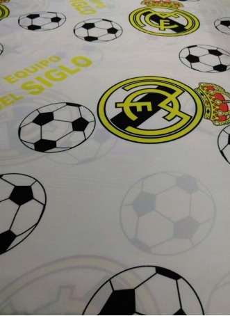 Juego De Sabana  Para Cama Doble Real Madrid