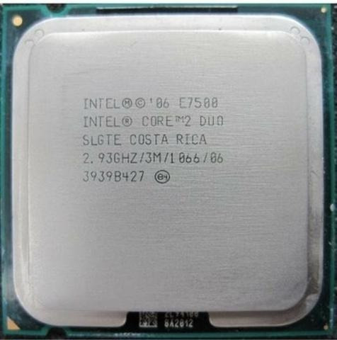 Rocessador Intel Core 2 Duo E7500 Socket 775 C/ Garantia