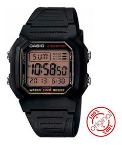 Relogio Casio Digital W800hg Serie Ouro Original C/ Caixa