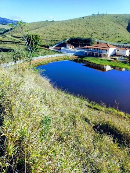 Fazenda Com 150 Hectares No Sul De Minas,toda Formada Em Pasto, Carmo De Minas, Casa Sede 03 Quartos, Muita Água, Apenas 02 Klm Terra. - 335