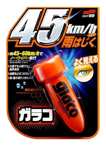 Repelente De Água Para Parabrisas - 75ml Soft99 Glaco Roll O
