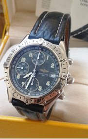 Relógio Breitling Chronomat Longitude Caixa Em Aço