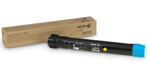 Toner Xerox 7800 Ciano - Original - 106r01570 - 17,2k