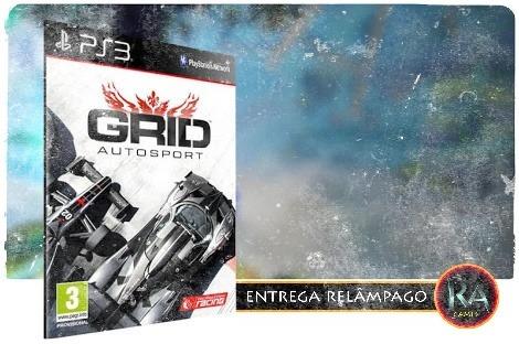 Grid Autosport Ps3 Psn Idioma Português - Promoção !!