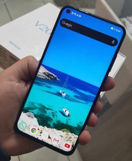 Huawei Honor V20 128gb - Completo Na Caixa - Mate Oppo Vivo