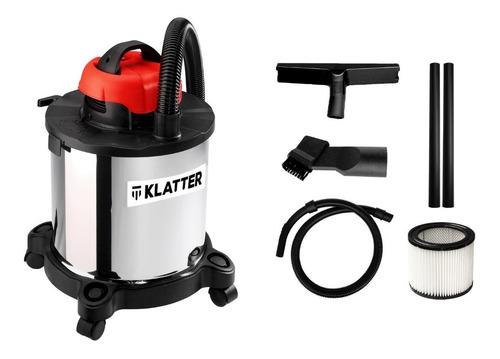 Aspiradora Industrial 20 Litros Liquido Polvo 1200w Klatter