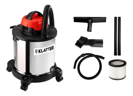 Aspiradora 20 Litros Liquido Polvo 1200w - Klatter