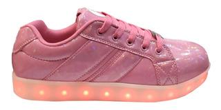 Zapatillas Footy Con Luces Led Y Carga Usb Fxl64 66 Reflex
