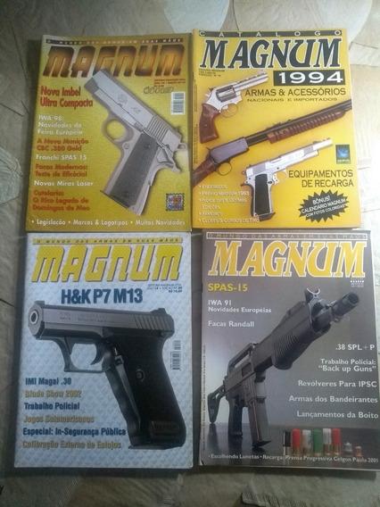 Quatro Revistas Magnum