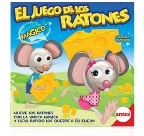 Imagen 1 de 1 de Juego De Los Ratones Juegos De Mesa Antex 8320 Edu Full