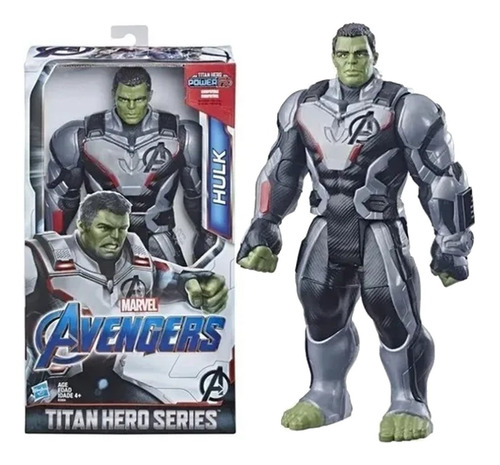 Imagem 1 de 5 de Boneco Hulk Marvel Avengers Deluxe Hero Power Fx 2.0 30cm
