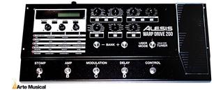 Alesis Warp Drive 200 Pedalera Multiefectos Oferta