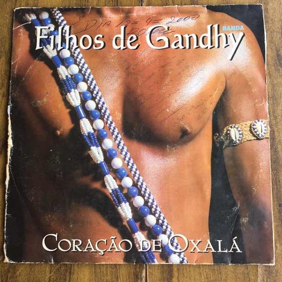 Lp Banda Filhos De Ganghy Coração De Oxalá 1996