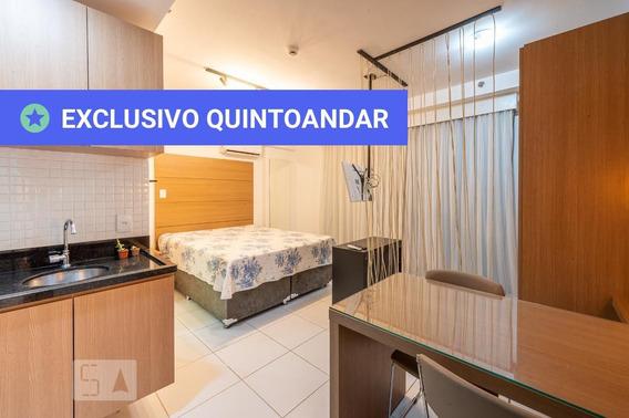 Studio No 2º Andar Mobiliado Com 1 Dormitório E 1 Garagem - Id: 892970458 - 270458