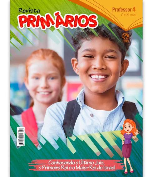 Revista Escola Bíblica Primários - 4º Tri / 2019 - Professor