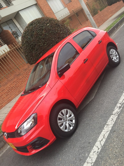 Volkswagen Gol Trendline Rojo 2018 Motor 1.6 L