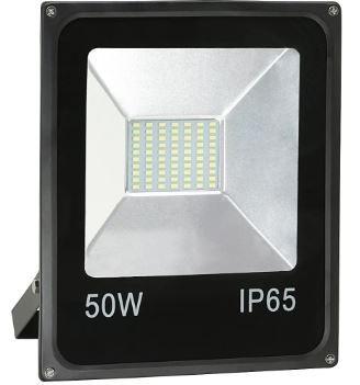 Refletor Led 50w Resistente À Água Luz Branco Frio
